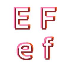 Abstract vector alphabet