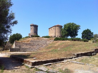 Zona archeologica di Velia. Ascea - Cilento