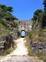 Zona archeologica di Velia. Ascea - Cilento - Italia