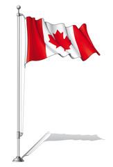 Flag Pole Canada