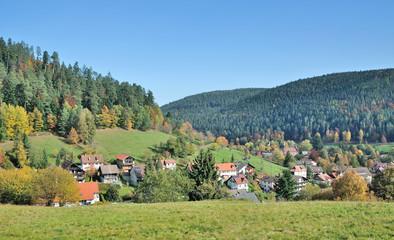 Urlaubsort Enzklösterle im Schwarzwald