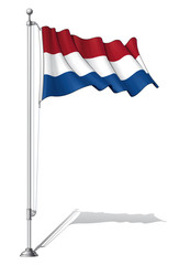 Flag Pole Netherlands