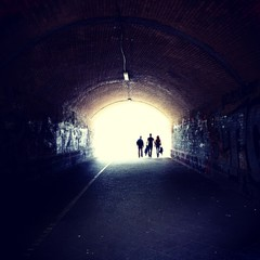 Light at the end of the tunnel - Berlin