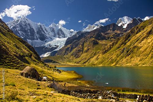 In de dag Zuid-Amerika land Cordillera