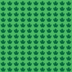 Maple Leaf Background - Seamless