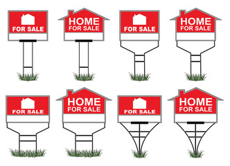 Home For Sale Signs
