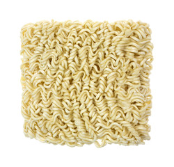 Crinkly Curly Noodles From Package