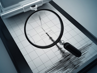 earthquake measures and magnifier