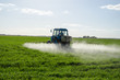 Tractor spray fertilize field pesticide chemical - 64479626