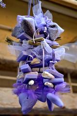 Dekoration aus Lavendelseife