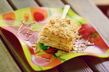mille-feuille (Napoleon pastry)