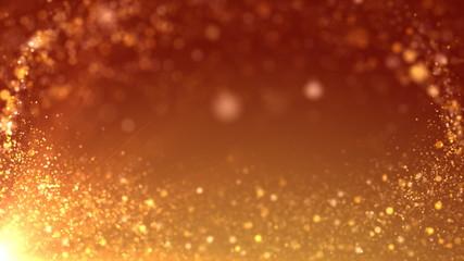 золотистый  фон