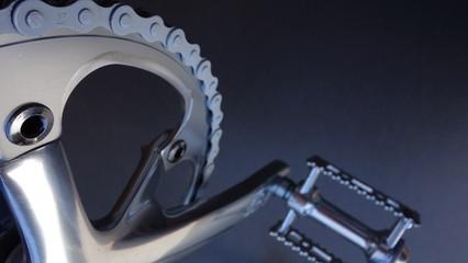 Cadena y Pedal De Bicicleta