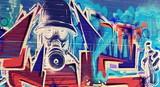 Postapokaliptyczne graffiti