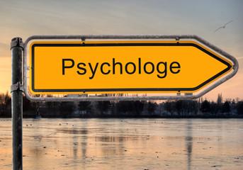 Strassenschild 9 - Psychologe