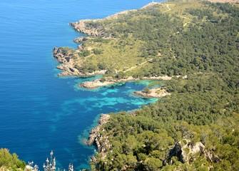 Küstenlinie Kap de Pinar