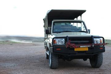 Safari Touristen Jeep