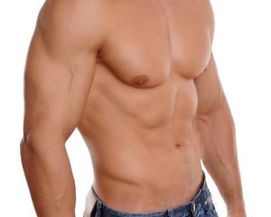 jung sexy muskulös