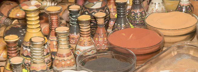 traditional local souvenirs in Jordan