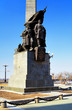 Monument to the heroes of civil war, Khabarovsk, Russia