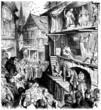 Leinwanddruck Bild - Mystery Plays - Jeu de la Passion - 15th-16th century