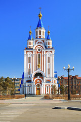 Assumption Cathedral in Khabarovsk