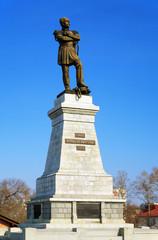 Monument of Muraviev-Amursky in Khabarovsk
