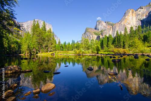 Aluminium Natuur Park Yosemite