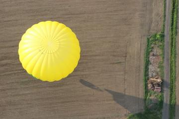 Ballon von Oben