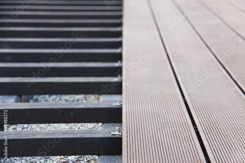 hausbau terrassen dielen III - 64488273