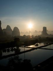 Yangshuo sunset