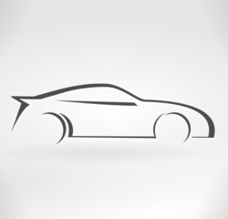 voiture de sport design