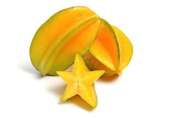 ripe starfruits