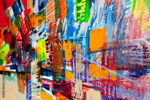 canvas print picture Abstrakte Strukturen 3