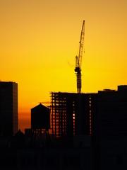 Crane Silhouette NYC-3