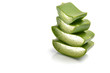 raw aloe Vera slices for health benefits