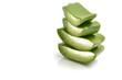 raw aloe Vera slices for health benefits