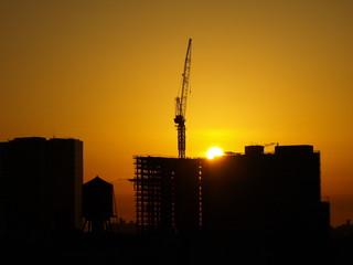 Crane Silhouette NYC-14