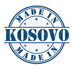 Made in Kosovo stamp