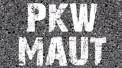 PKW-Maut Autobahn