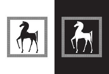 Illustration of the Trojan Horse