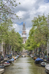 Zuiderkerk in Amsterdam, Netherlands.
