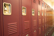 Student Lockers University School Campus Hallway Storage Locker - 64496227