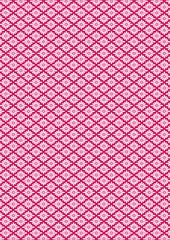"Traditional Japanese pattern - ""菊菱"""