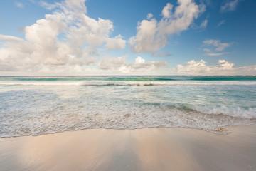 Beautiful Caribbean beach, Cancun, Mexico