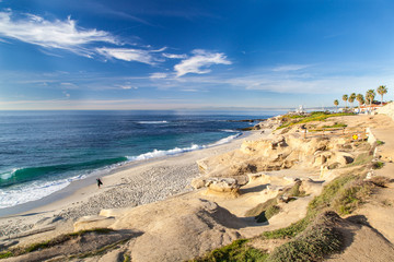 La Jolla cove beach, San Diego, California