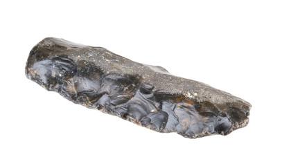 Stone age knife. Paleolithicum 5.400 BC