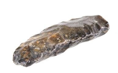 Stone age knife. Paleolithicum ca. 5.400 BC