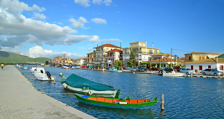 Lefkada port - holidays in Greece