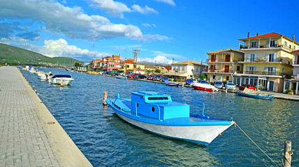 Lefkas island - tourist resort in north Greece